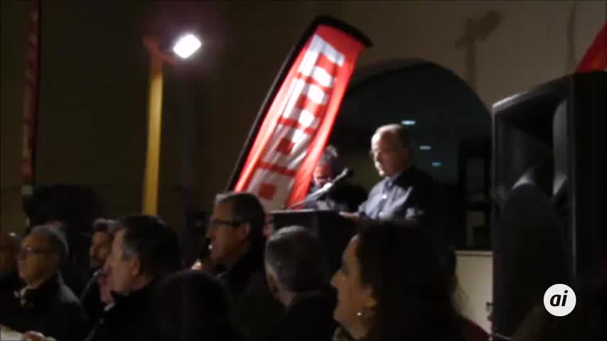 La comarca, por la vía de la protesta por el tren
