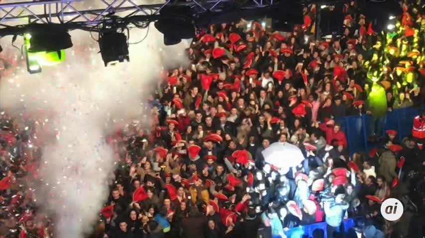 20.000 Jóvenes despiden el año estudiantil desde Salamanca