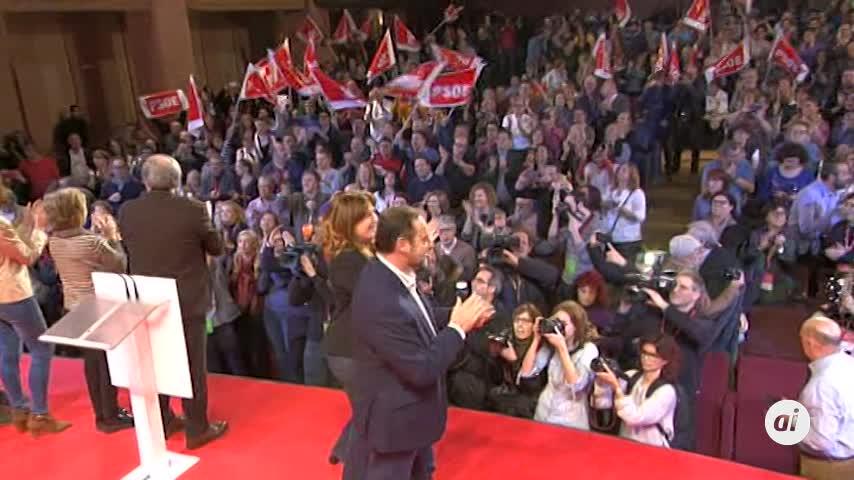 """El PSOE-M ensalza a sus candidatos """"soberanos"""""""