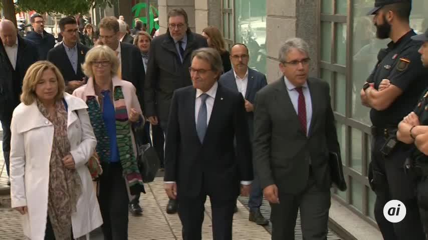El Supremo rebaja a un año y un mes la inhabilitación de Artur Mas