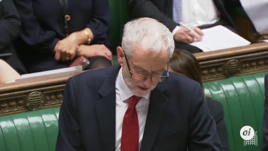 Corbyn planteará una moción de censura contra May por su gestión