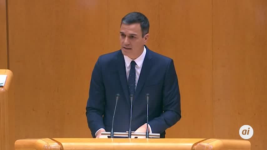"""Sánchez acusa a PP y Ciudadanos de """"derruir"""" la España autonómica"""