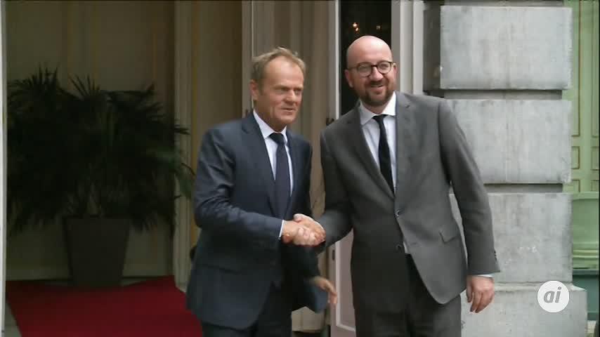Charles Michel anuncia su dimisión y se presenta ante el Rey