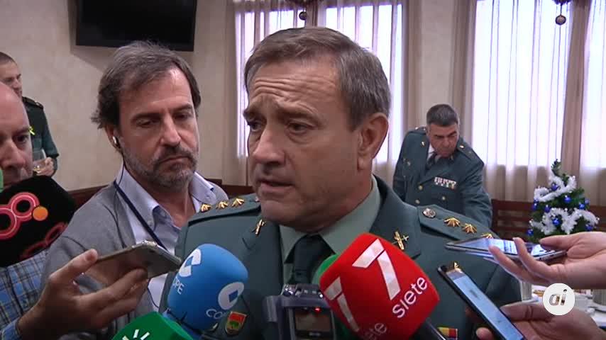 """Un """"año complicado"""" para los guardias civiles en la provincia de Cádiz"""