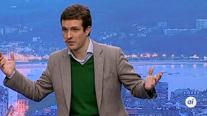 """Casado: se pretende hacer de la cárcel de Zaballa """"la catedral"""" de ETA"""