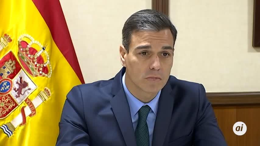 """Sánchez subraya la """"contribución a la paz"""" de las tropas en exterior"""