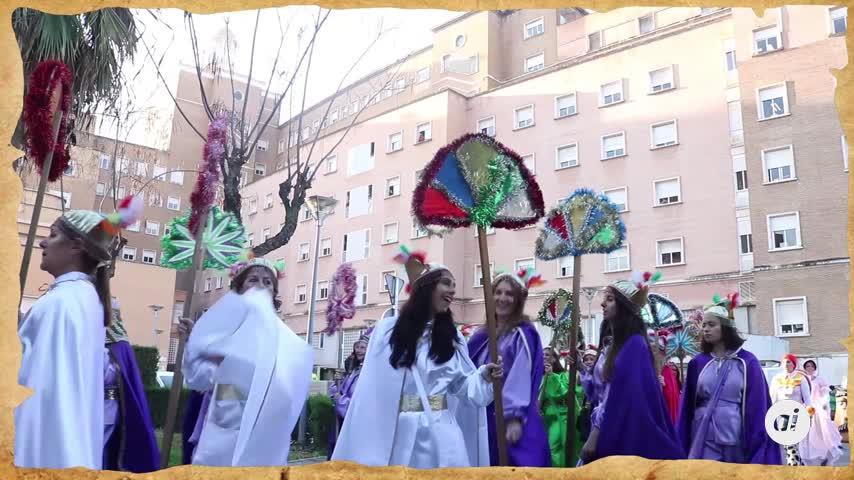 El Cartero Real visita a los niños del Hospital Virgen del Rocío