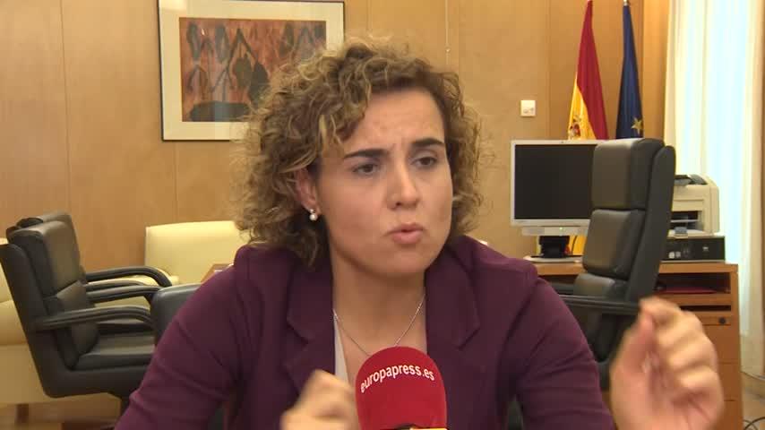 """Montserrat acusa a Sánchez de """"traición"""""""