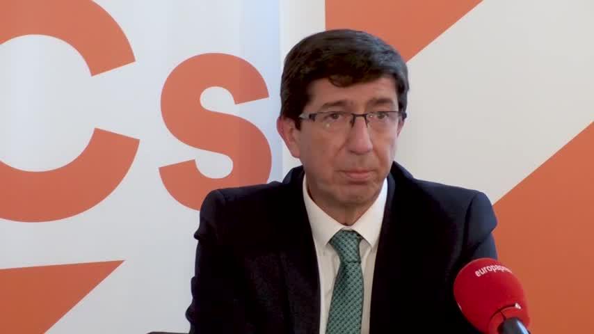 Marín no cree que el pacto PP-Cs en Andalucía sea extrapolable