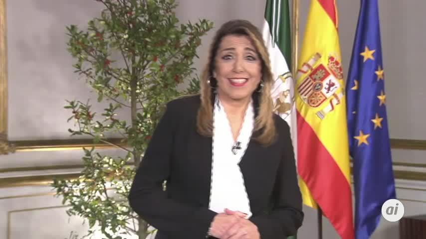 Susana Díaz despide el año y su mandato reivindicando 2018