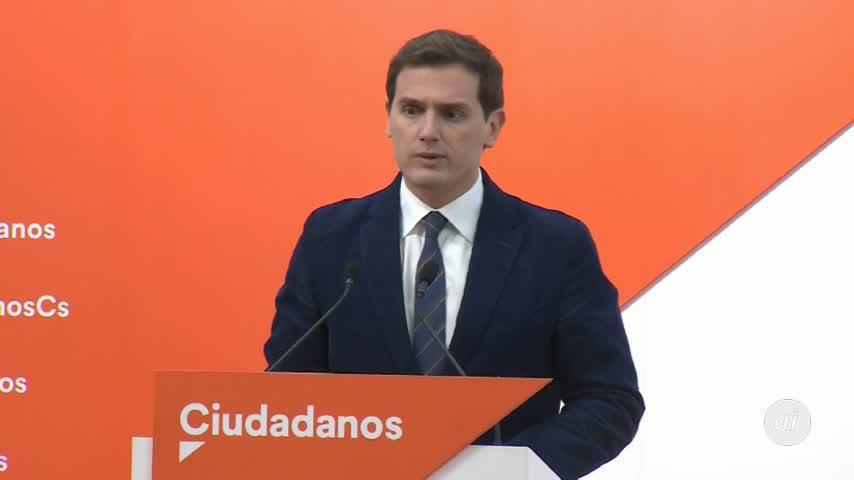 Rivera: Ciudadanos no aceptará ninguna medida que el PP pacte con Vox