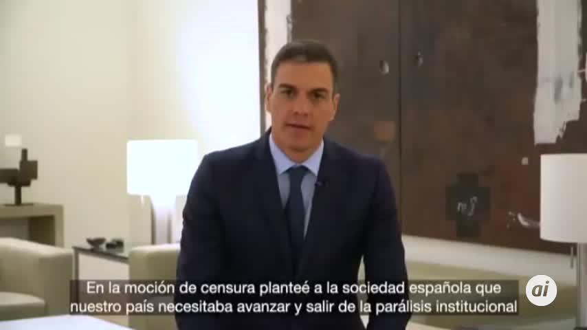 Pedro Sánchez suplica por la necesidad de aprobar los PGE