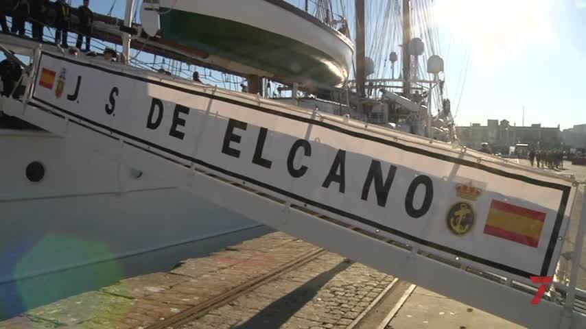 Elcano se despide de Cádiz