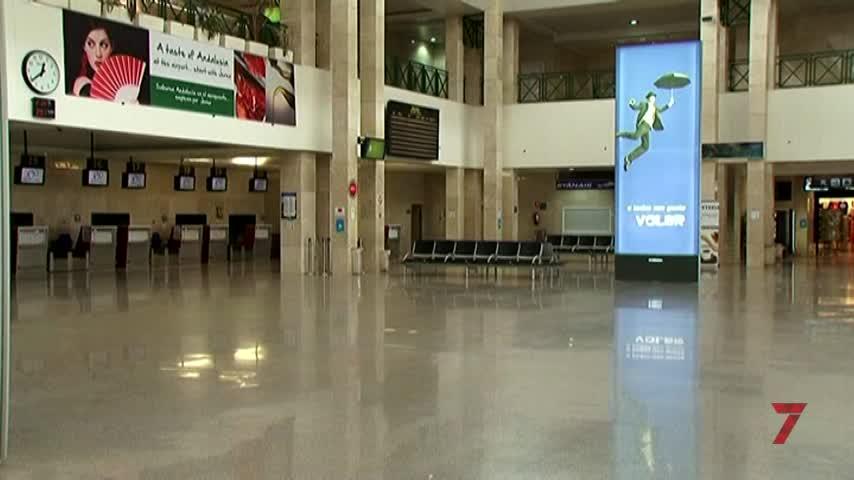 El aeropuerto ha recuperado ya la mitad de los pasajeros que perdió