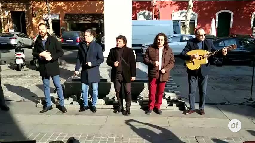 Cantores de Híspalis rinden homenaje a la primera Vuelta al Mundo