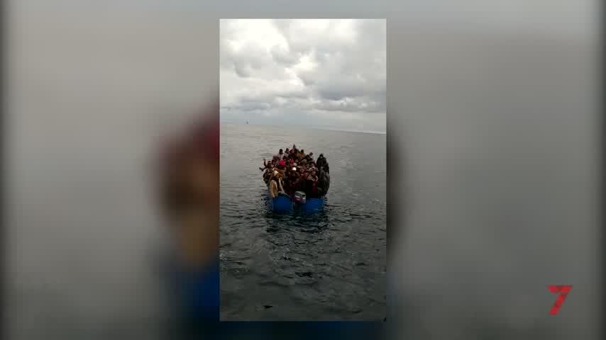 Servicio Marítimo rescata a 79 migrantes a la deriva en alta mar