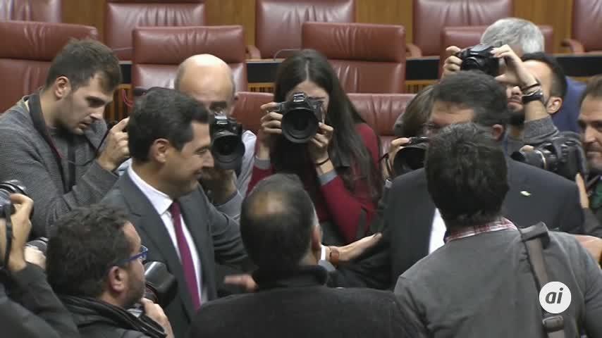 Juanma Moreno presidente y el PSOE en la oposición tras 40 años