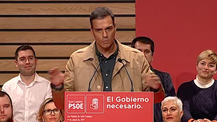 Sánchez acusa al PP de volver a su peor pasado junto a la ultraderecha