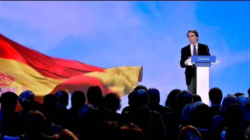 """Aznar ve a Casado un líder """"como un castillo"""" sin """"tutelas, ni tutías"""""""