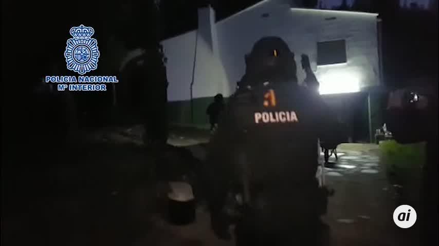 Desmantelan en un chalet de Valencia un laboratorio de cocaína