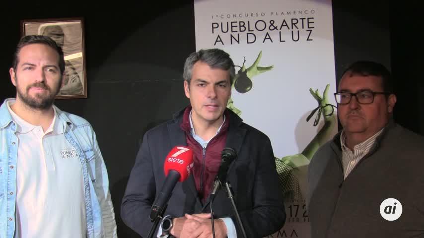 El Concurso de Baile Flamenco Pueblo y Arte Andaluz, el 17 de febrero