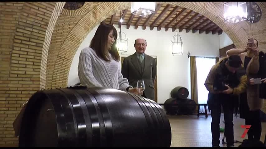 Alumnos de la Japan Sherry Academy visitan  el Marco de Jerez