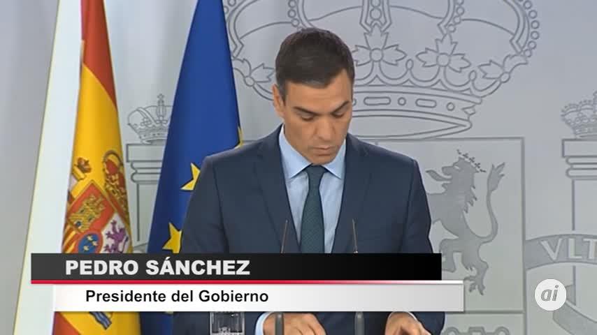 Sánchez da ocho días a Nicolás Maduro para convocar elecciones