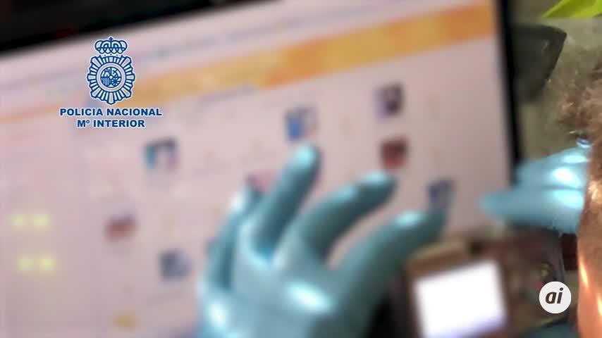 Detenido en Valladolid con 40.600 archivos pedófilos de extrema dureza