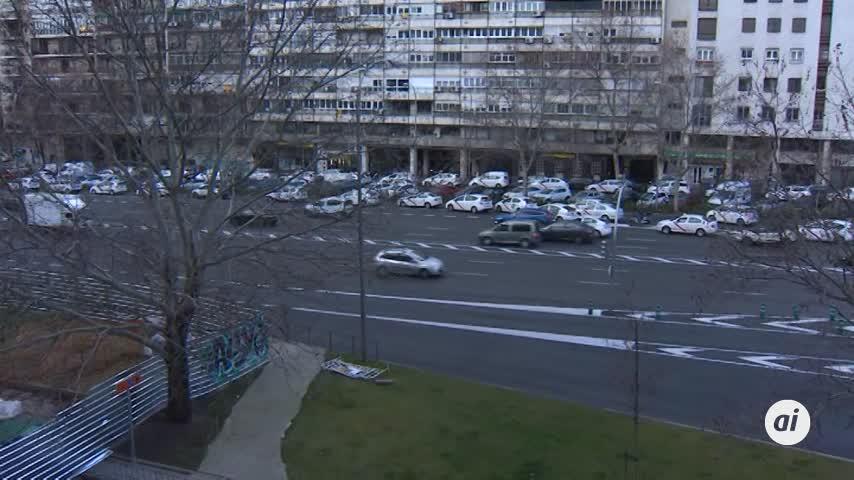 Taxistas esperan en Sol la respuesta de la Comunidad a su propuesta