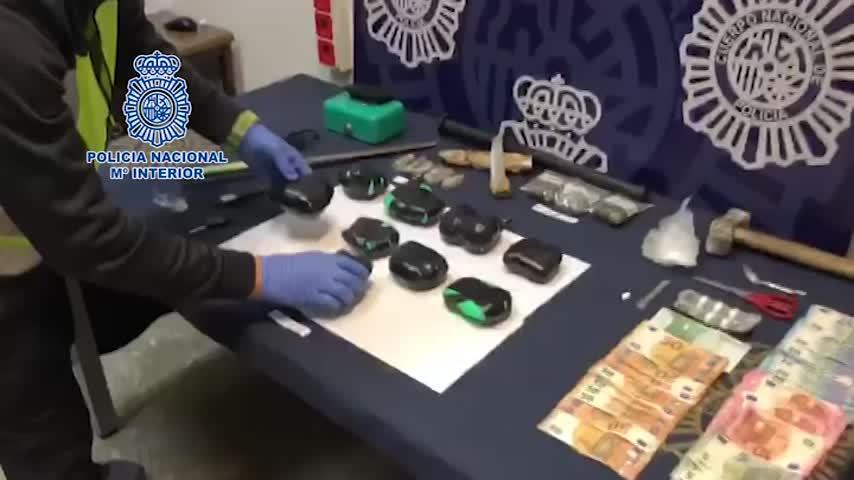 En prisión 3 hombres por intento de distribuir 2.350 gramos de cocaína
