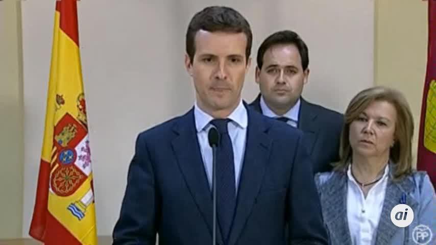 PP y Ciudadanos llaman a manifestarse tras aceptar Sánchez un relator