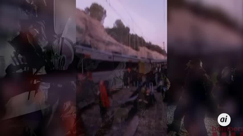 Mossos y técnicos de Renfe analizan las cajas negras de los dos trenes