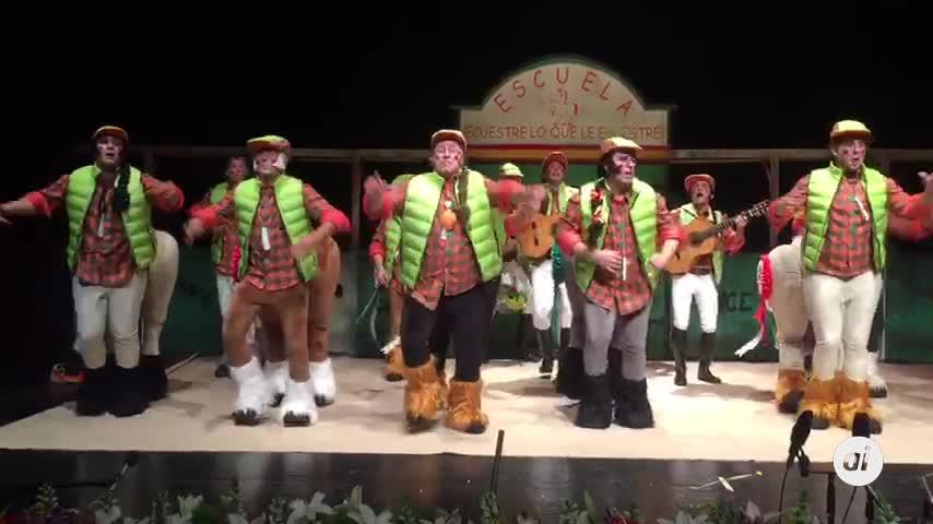 Un sábado noche de Carnaval de fábula en Málaga