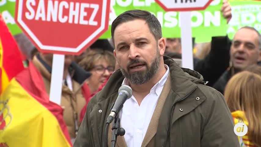 """Abascal (VOX) pide detener a """"la Presidencia de la Generalitat"""""""