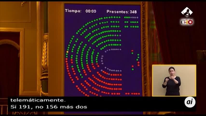 El Congreso rechaza los Presupuestos y abre la puerta a un adelanto