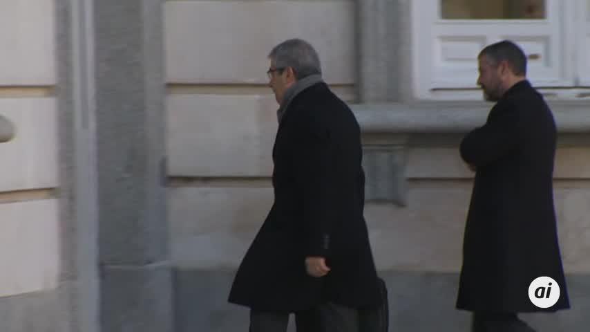 El Supremo reanuda el juicio a secesionistas con el turno de acusados