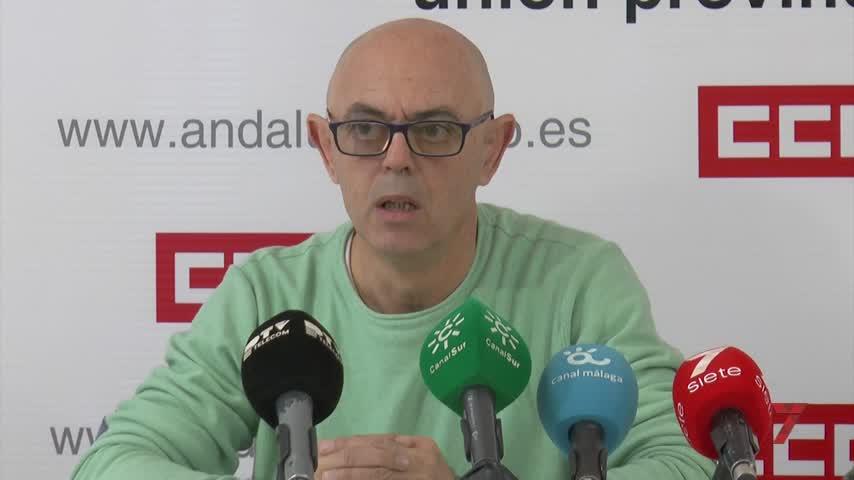 """Málaga puede competir en seguridad laboral con el """"tercer mundo"""""""