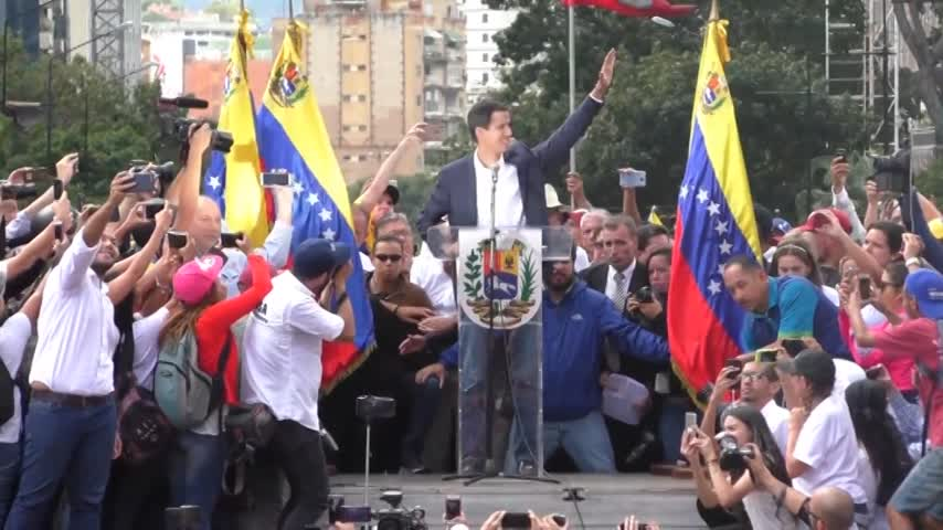Pompeo y Mogherini abordan hoy en Bruselas la situación de Venezuela