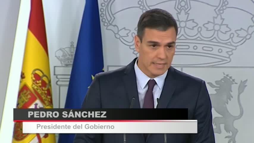 Sánchez convoca elecciones generales: Serán el 28 de abril