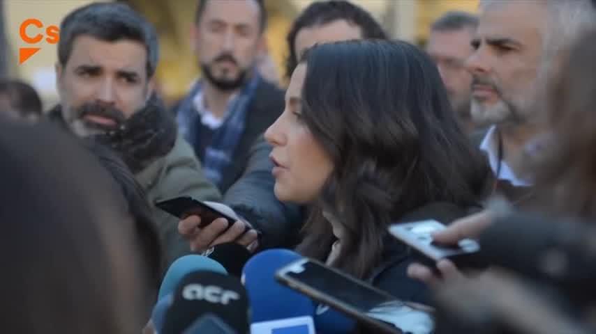 """Arrimadas dice que en abril """"acabará la etapa negra del sanchismo"""""""