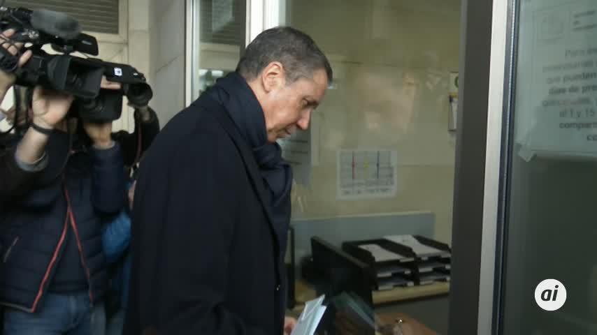 Zaplana: no he participado en contratos fraudulentos