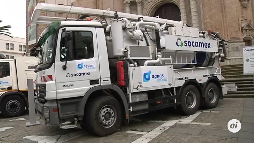 Mejoras ambientales en la limpieza de la red de saneamiento