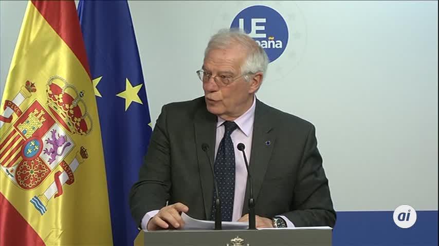 """Borrell ve """"desproporcionado"""" romper relaciones con Venezuela"""