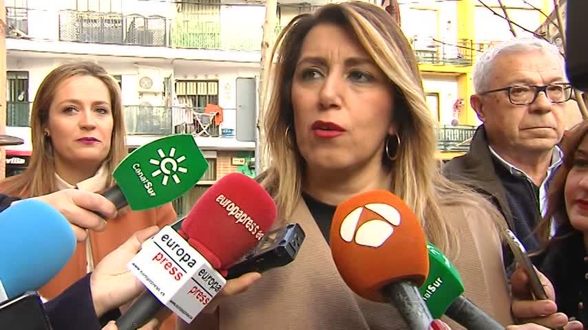 """Díaz dice que el CIS le da """"fortaleza"""" para seguir"""
