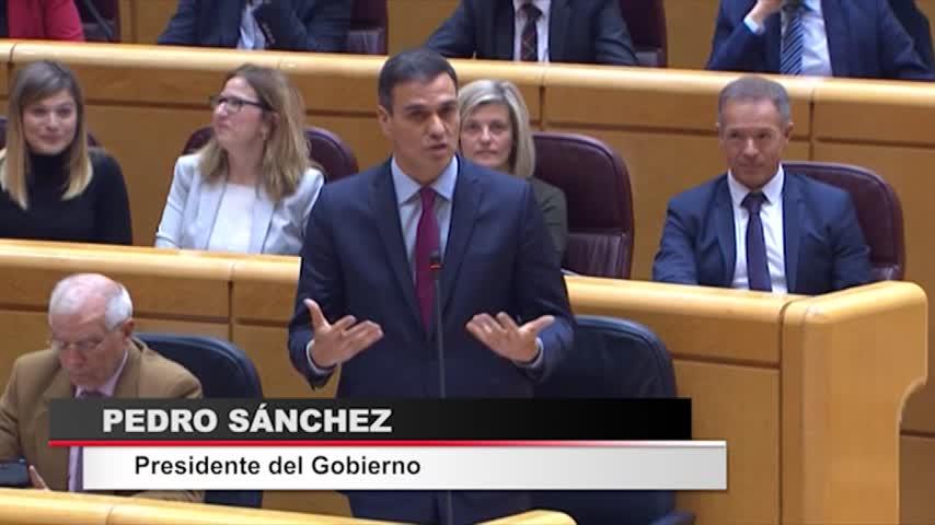 Comicios y Cataluña marcan la sesión de control al Gobierno en Senado