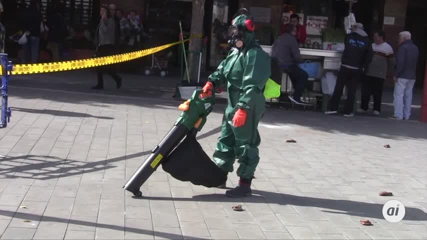 'Street marketing' para concienciar sobre la recogida de excrementos