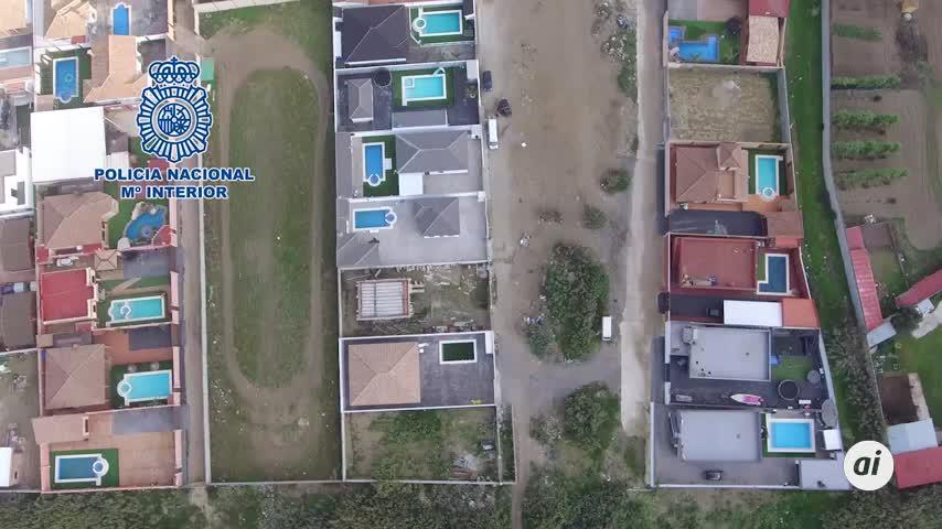 Tres detenidos en La Línea por las viviendas ilegales del Zabal