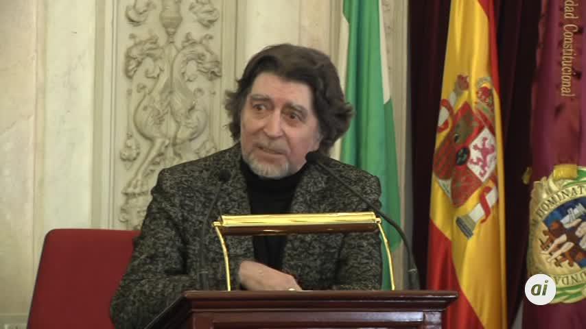 Joaquín Sabina se quita el sombrero en Cádiz