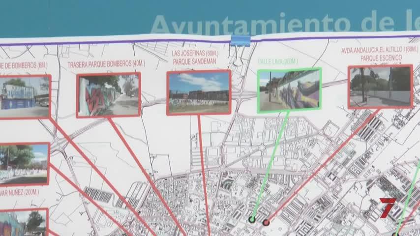 Objetivo: 2.000 metros de muros para artistas grafiteros en Jerez