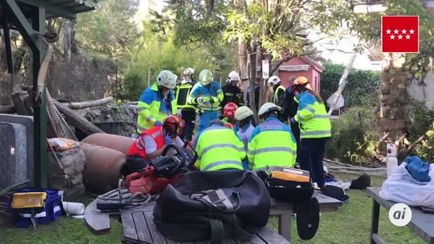 Muere electrocutado un hombre de 53 años en Colmenar